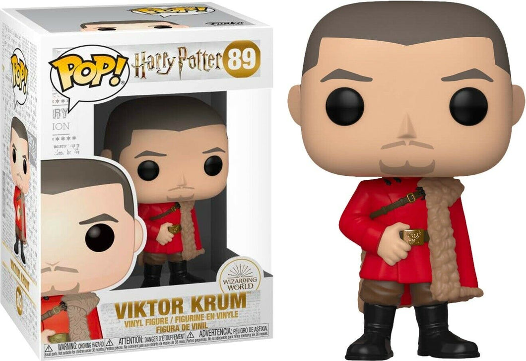 Funko Pop Harry Potter  Viktor Krum Vinyl Figure