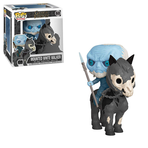 Funko POP Rides GOT Mounted White Walker 60 Figure