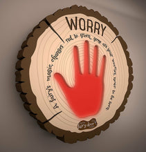 Load image into Gallery viewer, The Irish Fairy Door Company Interactive Worry Plaque
