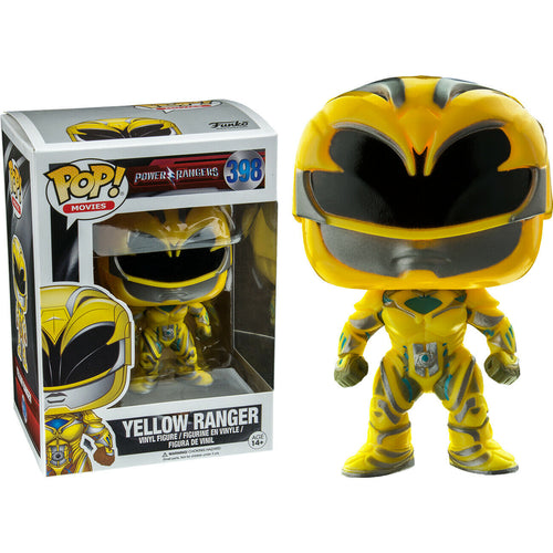 Funko Pop Movies Power Rangers Yellow Ranger 398 Vinyl Figure