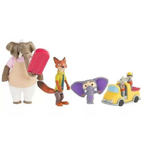 Disney Zootropolis  Operation Red Wood 7 Pieces