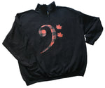Red Leaf Bass Clef Sweatshirt