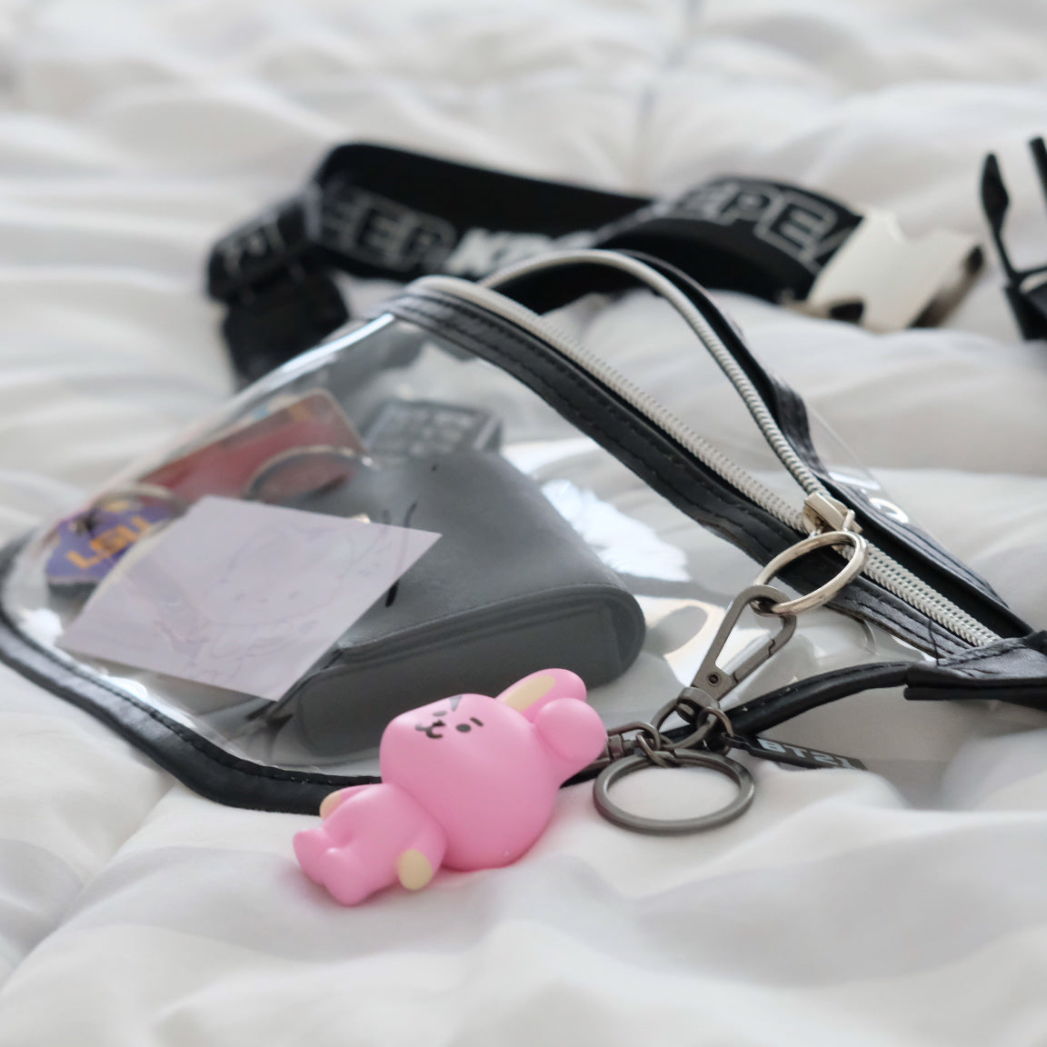 Eat. Sleep. Kpop. Repeat. Fanny Pack