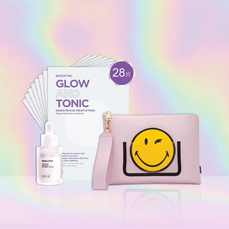 Skocktail x Smiley 28 days Glowing Skin Programme (Limited Edition)