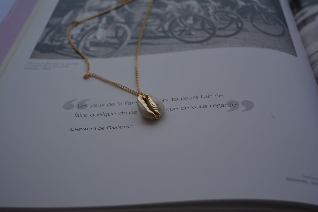 Collier coquillage - othersconcept