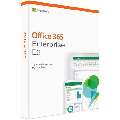 Microsoft Office 365 Enterprise E3 for PC & MAC