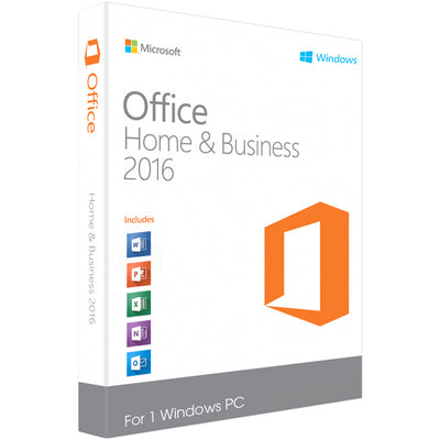 Microsoft Office 2016 Home & Business for Windows PC