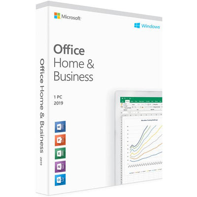 Microsoft Office 2019 Home & Business for Windows PC