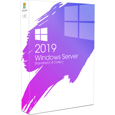 Windows Server 2019 Standard ( 4 Cores )
