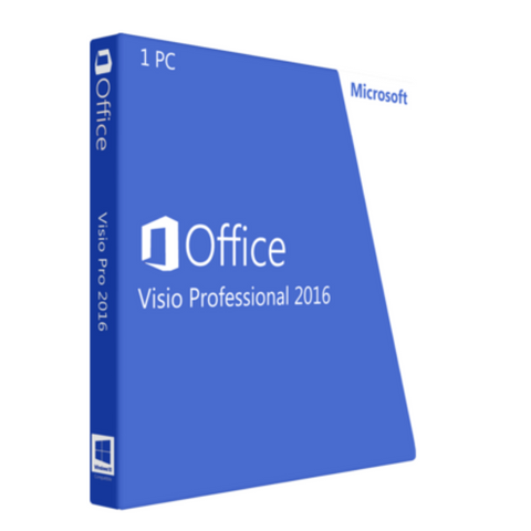 Microsoft Visio Professional 2016 For Windows PC