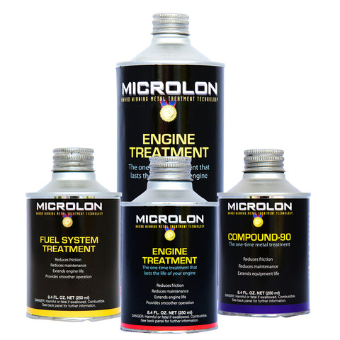 Microlon Engine Treatment Kit - Big Block V-8