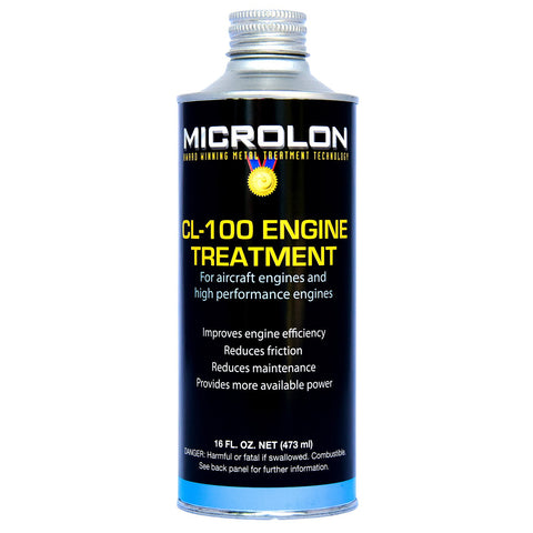 Microlon High Performance Engine Treatment - Small Engines 100-200hp (16oz.)
