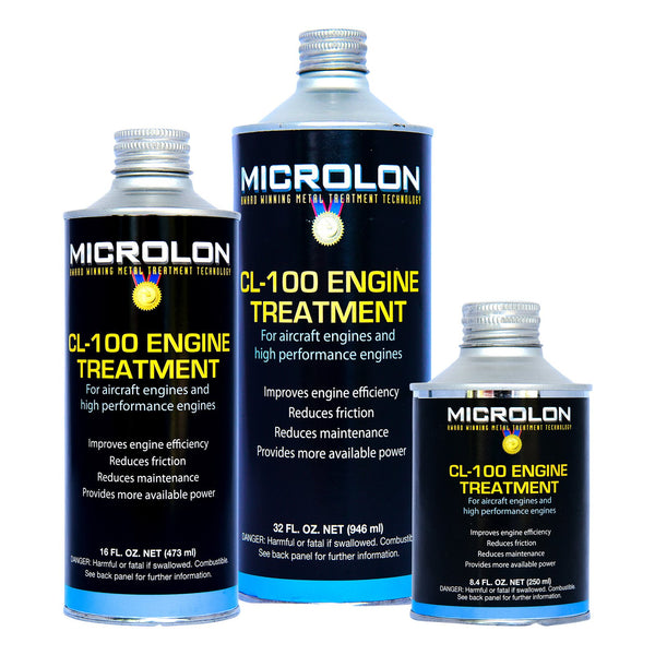 Microlon Engine Treatment Kit - Lycoming Aircraft [IVO-540 Engine]