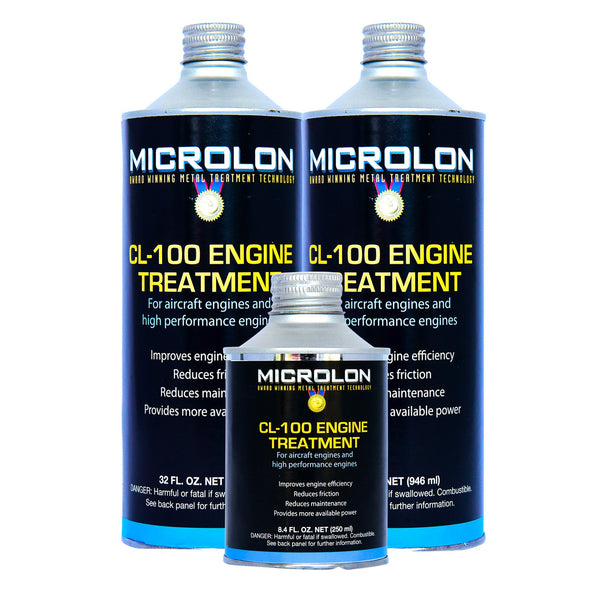 Microlon Engine Treatment Kit - Lycoming Aircraft [TIO-540 Engine]
