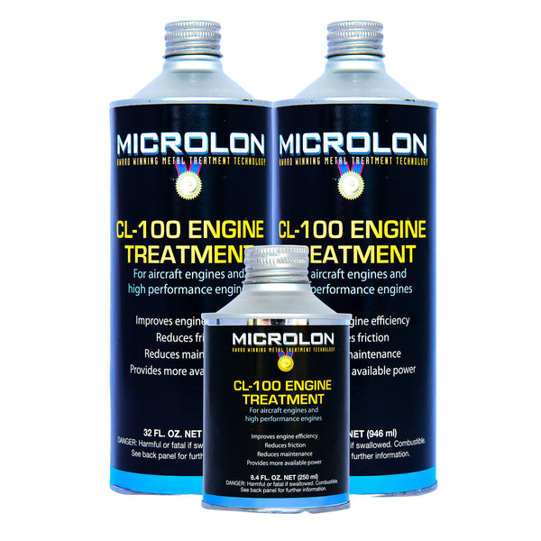 Microlon Engine Treatment Kit - Continental Aircraft [TSIO-470 Engine]