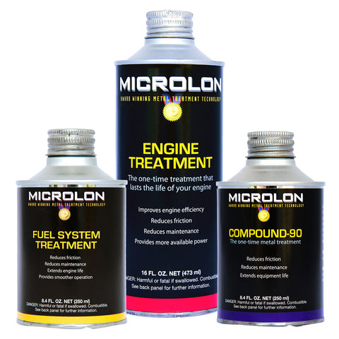 Microlon Engine Treatment Kit - Compact Car