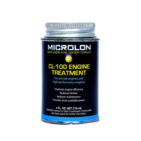 Microlon High Performance Engine Treatment - Small Engines 3-20hp (4oz.)