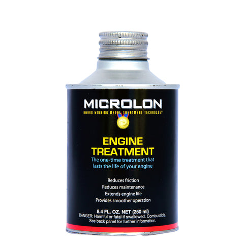 Microlon Engine Treatment - Small Engines 21-99hp (8oz.)