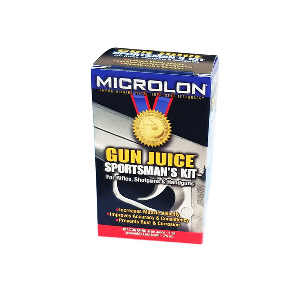 Microlon Sportsman's Kit - 1 oz. Gun Juice, 3/4 oz. Assembly Lube