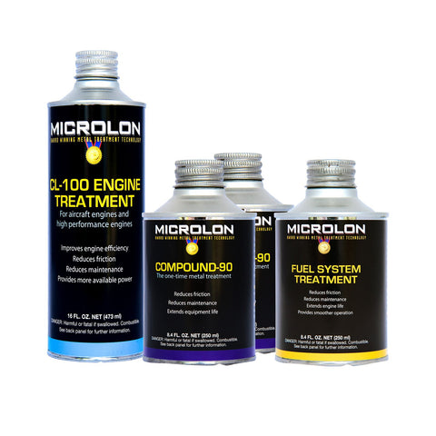 Microlon Motorcycle Engine Treatment Kit - 1000-1499cc 4-Stroke Engines
