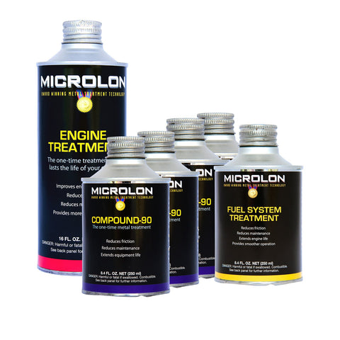 Microlon Motorcycle Engine Treatment Kit - 1500cc  4-Stroke Engines