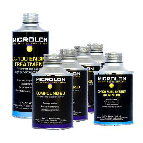 Microlon High Performance Motorcycle Engine Treatment Kit - 1500cc  4-Stroke Engines
