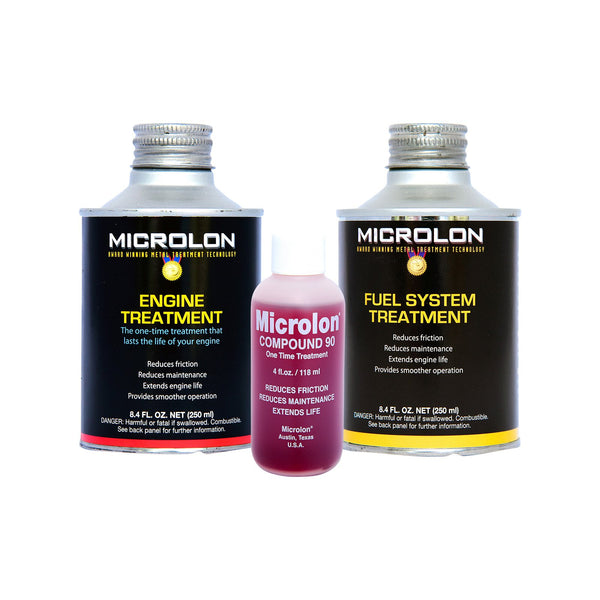 Microlon Motorcycle Engine Treatment Kit - 20-99cc 4-Stroke Engines