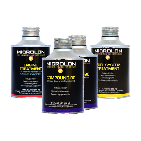 Microlon Motorcycle Engine Treatment Kit - 500-999cc 4-Stroke Engines