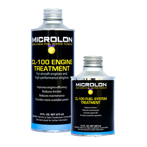 Microlon Engine Treatment Kit - Continental Aircraft [A-65 Engine]