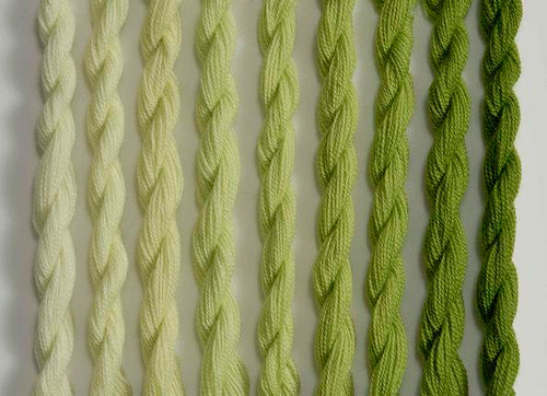 Heathway Milano Crewel Wool - Apple Green (H0240)