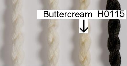 Heathway Milano Crewel Wool - Buttercream (H0115)