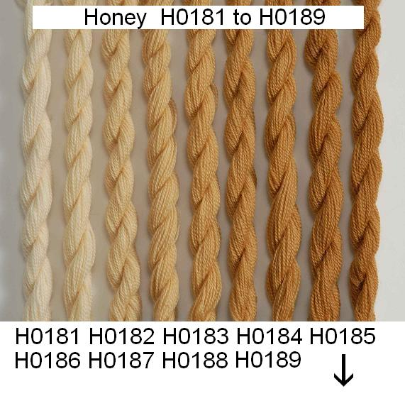 Heathway Milano Crewel Wool - Honey (H0180)