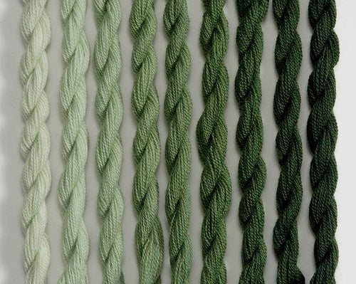 Heathway Milano Crewel Wool - Laurel Green (H0120)