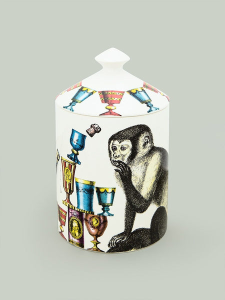 Champagne Monkey Scented Wax Candle
