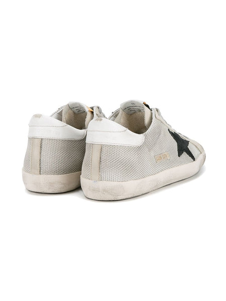Grey Cord Superstar Sneakers Back