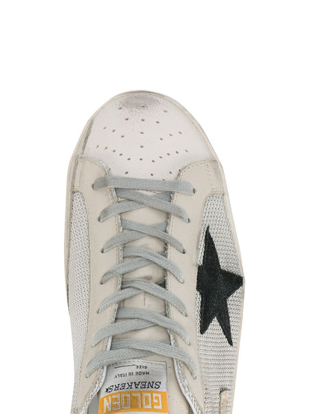 Grey Cord Superstar Sneakers Toe