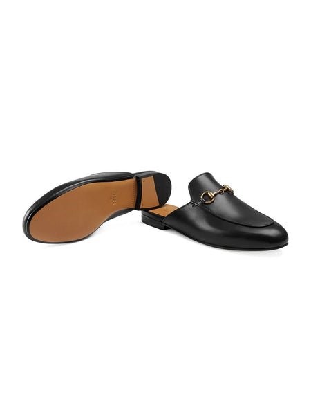 Classic Princetown Slipper - Black Detail