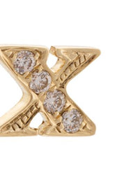 XO Diamond Stud Earrings (X)
