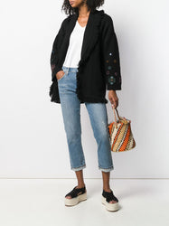 Emerson boyfriend jeans On Model