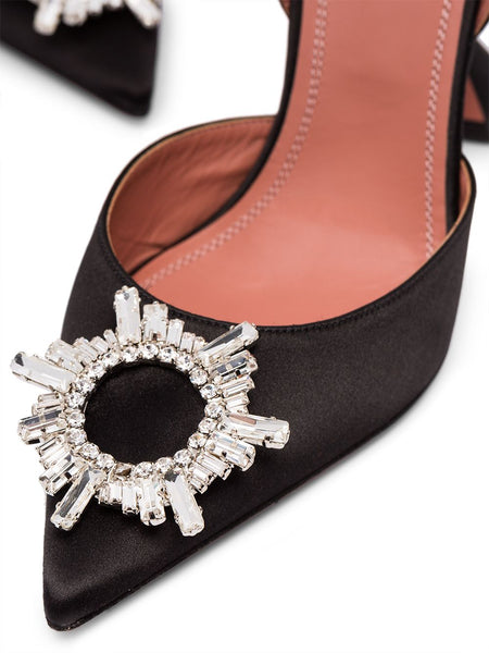 Begum Crystal-Buckle Pumps