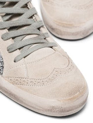 Mid Star Glittered Sneakers Toe Detail