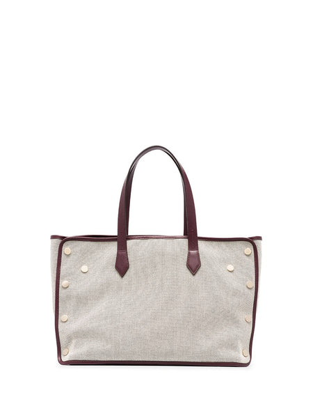 Medium Cabas Shopper Tote Bag - back view