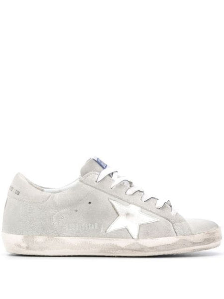 Superstar Sneakers Gray and White