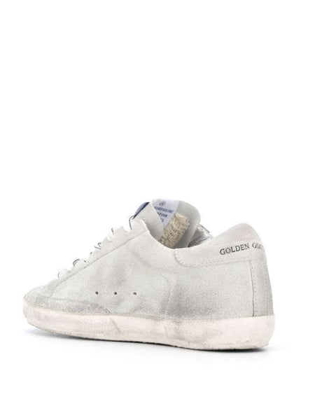 Superstar Sneakers Gray and White Inside Right