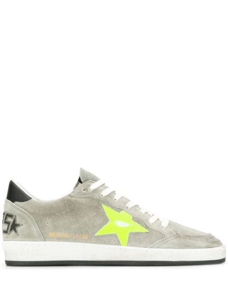 Low-top Suede Sneakers Side