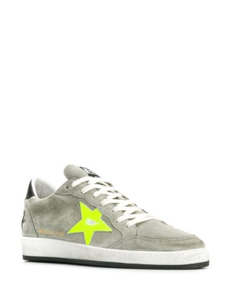 Low-top Suede Sneakers 3/4