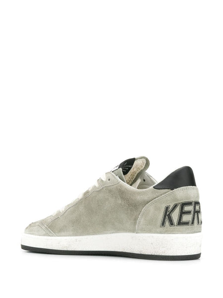 Low-top Suede Sneakers Back