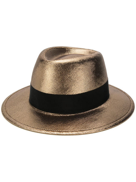 Metallic Trilby Hat