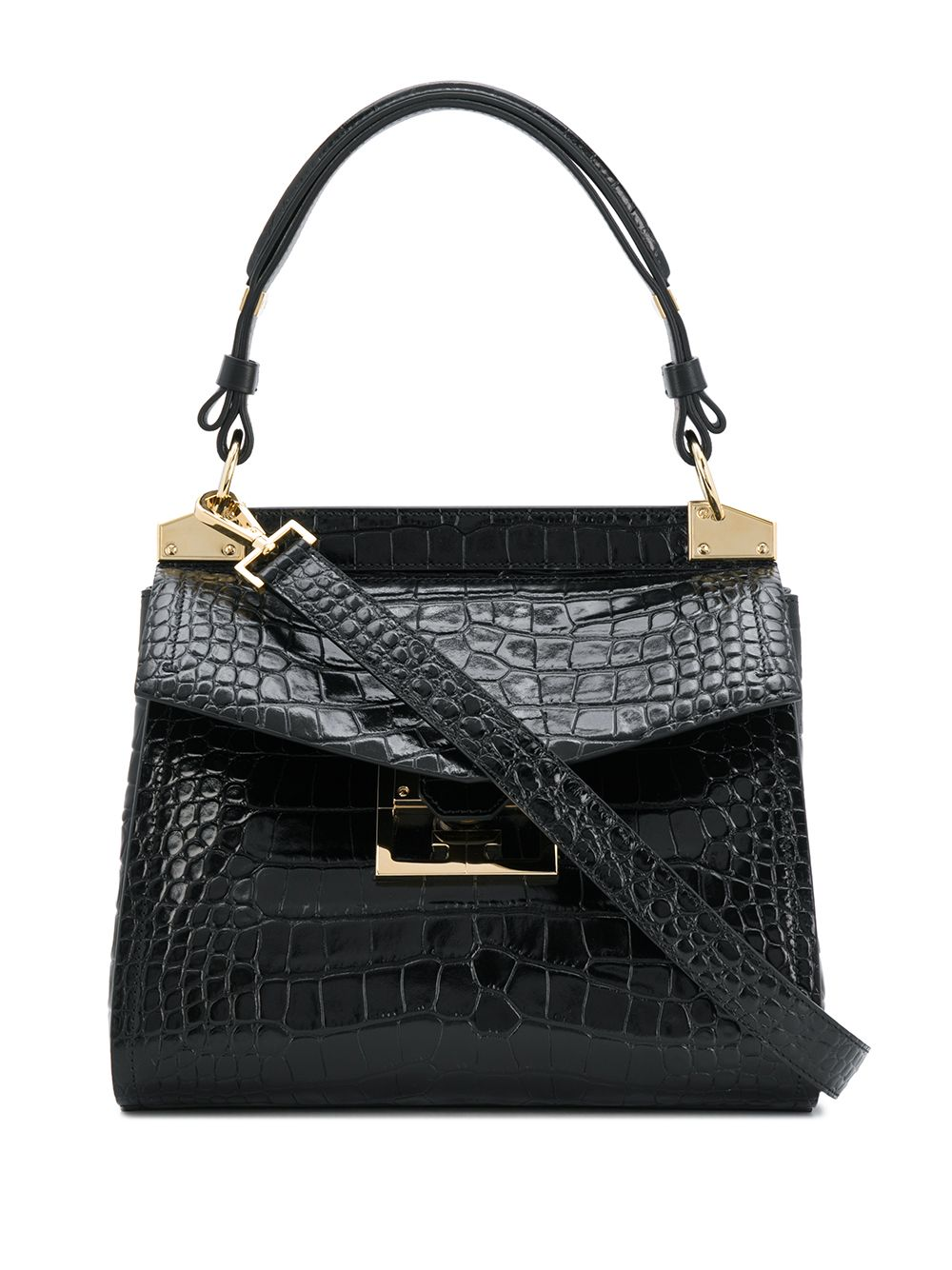 Mystic Embossed Crocodile Effect Bag