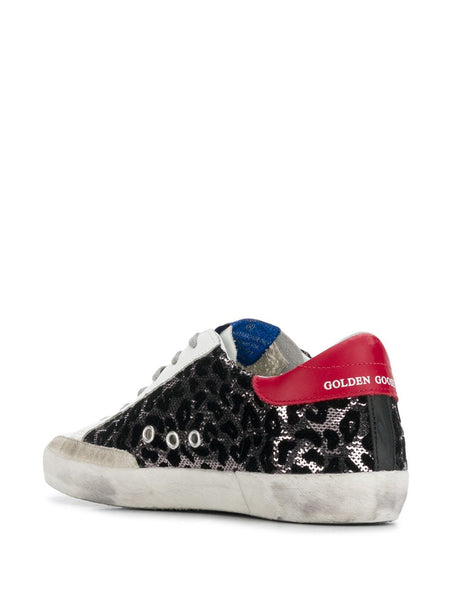 Superstar Leopard Print Sneakers Inside Right